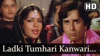 Ladki Tumhari Kanwari (HD) - Krodhi 1981 Song - Dharmendra - Shashi Kapoor - Zeenat Aman
