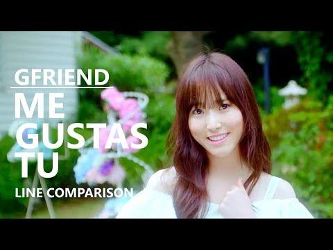GFRIEND (여자친구) - ME GUSTAS TU (without Yerin) [Line Comparison]