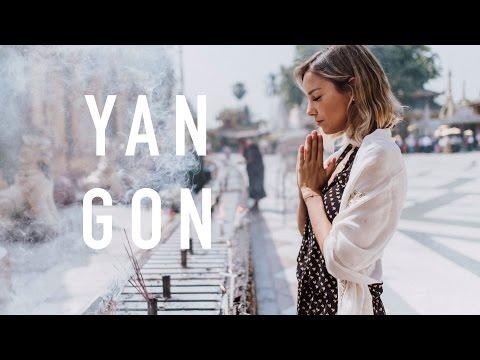 Cheguei no Myanmar! | Vlog