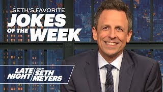 Seth's Favorite Jokes of the Week: New York Times' 2020 Endorsement, the Impeachment Trial