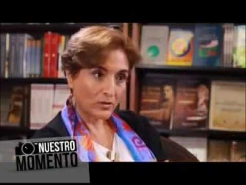 Laura Fierro en el Programa Nuestro Momento