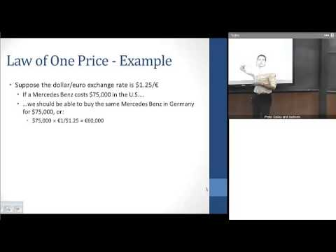 Chapter 17 Part 1:  Exchange Rate Basics and LR Determinants