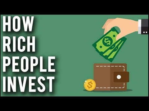 How Rich People Invest Their Money