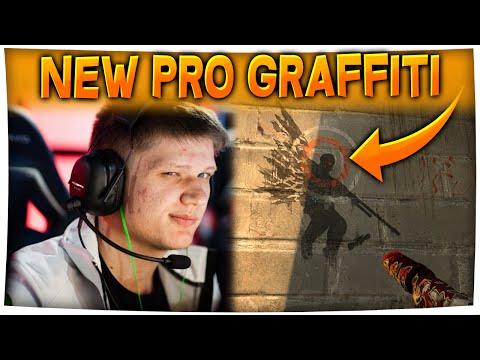 CS:GO - NEW Pro Easter Egg/Graffiti! ft. s1mple
