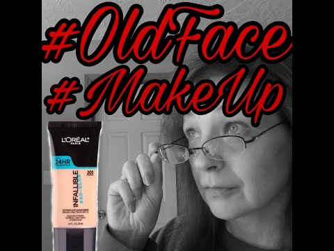 #Loreal #ProGlow #Foundation #Review #GRWM #OldFace #MakeUp