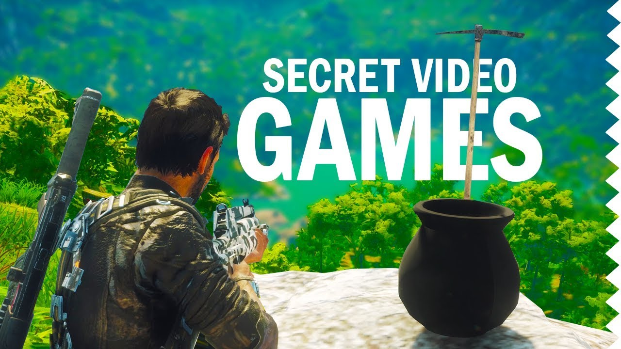 Secret Games You Can Play in Video Games!