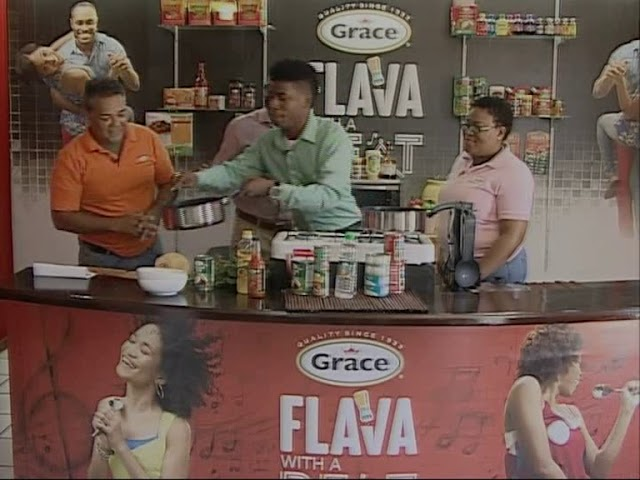 Grace & You Cooking Show   Grace oil Down