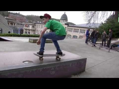 ARRACK SKATEBOARDING Présents Corentin Deravet (14 Years Old)