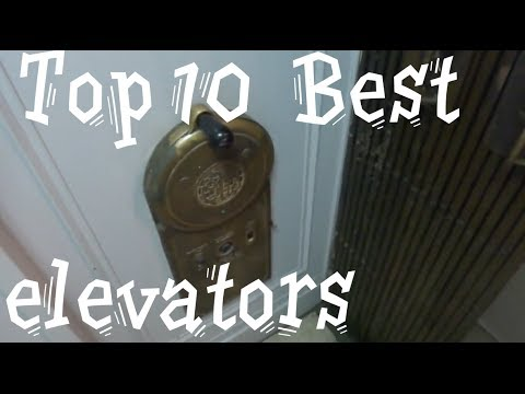 Top 10 best elevators : Blast from the past!