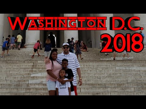 Washington D.C. vlog 2018 - Museum, Monument, Memorial Tour