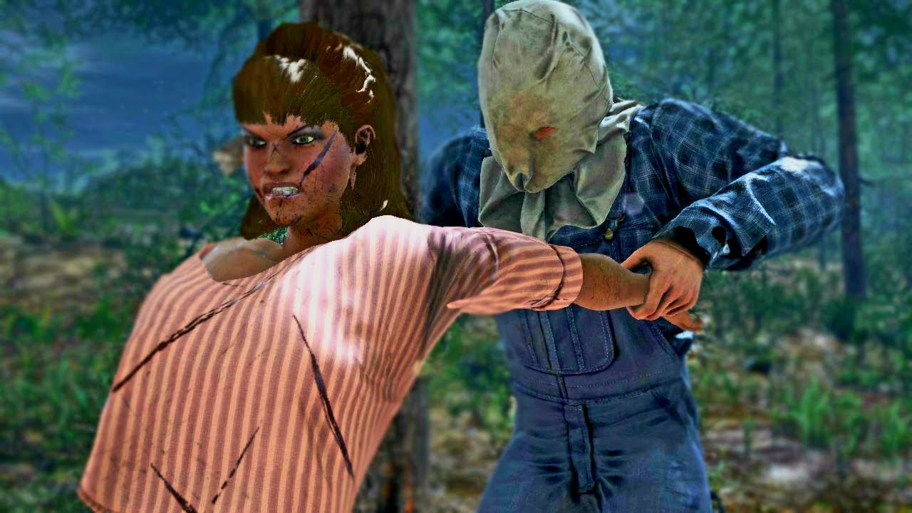 Friday the 13th the game - Evil kid 3 🔪 (Jason with voice ...