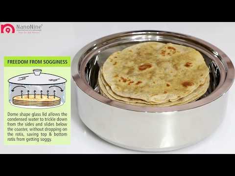 NanoNine Roti Saver (stainless steel)
