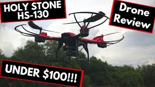 Best Drone Under $100? — Holy Stone HS130 Drone Review