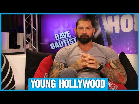 GUARDIANS OF THE GALAXY's Dave Bautista on How to Be Intimidating!