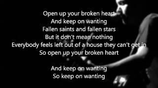 The Fray - Keep on Wanting (Lyrics)