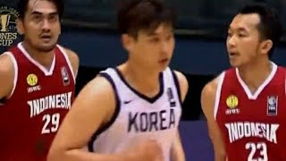 William Jones Cup 2019 Highlight Indonesia vs South Korea July 15,2019