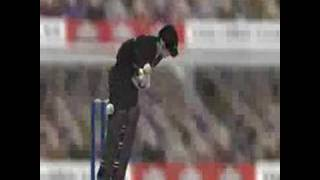 Cricket 2004 PC Game Video :D!