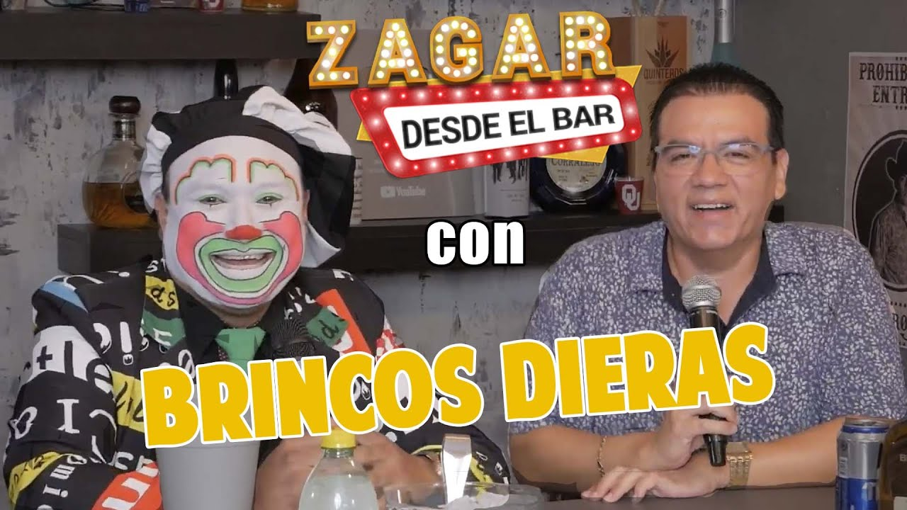 Zagar desde el Bar con Brincos Dieras - YouTube