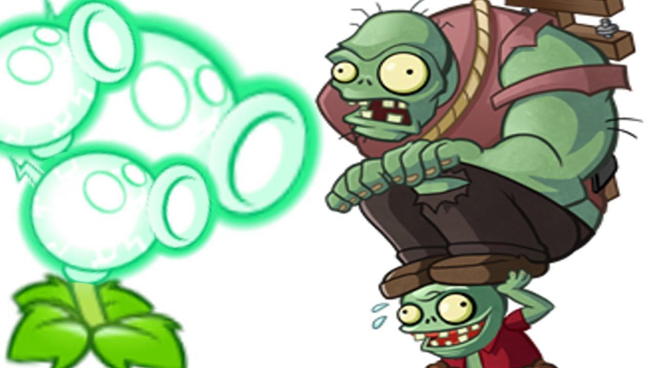 Peashooter Zombie