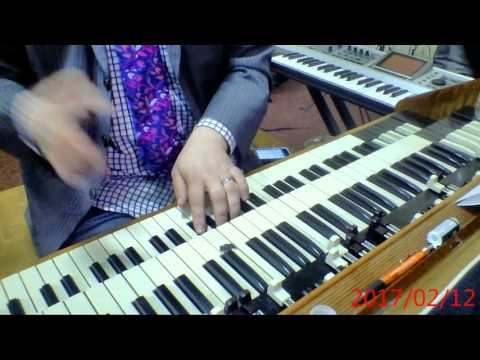 """Backing The Preacher/Grateful - The Faith Place 2/12/17 - Dan """"Spiffy"""" Neuman, organ/keybass"""
