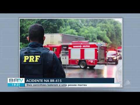 Tragédia no Sul Baiano: Caminhoneiro que viajava de Vitória da Conquista para Itabuna morre na BR-415 2