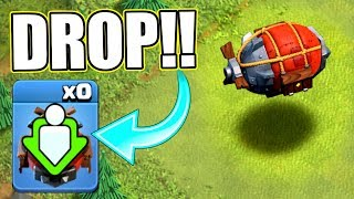 HOW TO USE THE BLIMP!? 3 STAR STRATEGY - Clash Of Clans