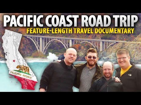 Epic PACIFIC COAST HIGHWAY Road Trip! (Feature-Length Vlog) #PCHz