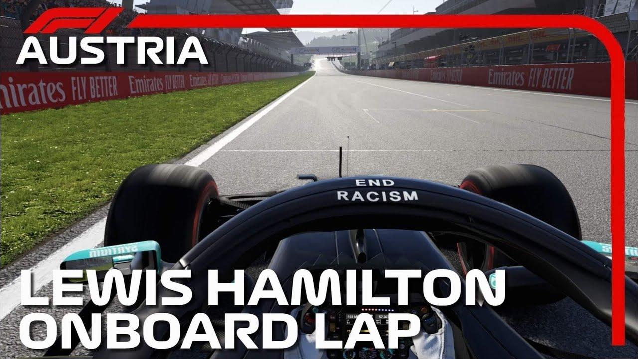 Lewis Hamilton Onboard Lap | 2020 Austrian Grand Prix
