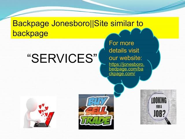 Backpage Jonesboro Alternative To Backpage Backpage Jonesboro Alternative To Backpage Wattpad