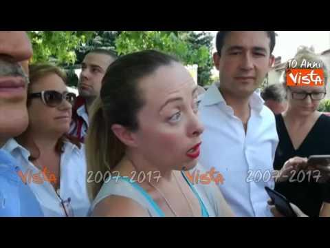 """Meloni a Sesto San Giovanni: """"Qui la scelta è tra nuova moschea o nuovo commissariato"""""""