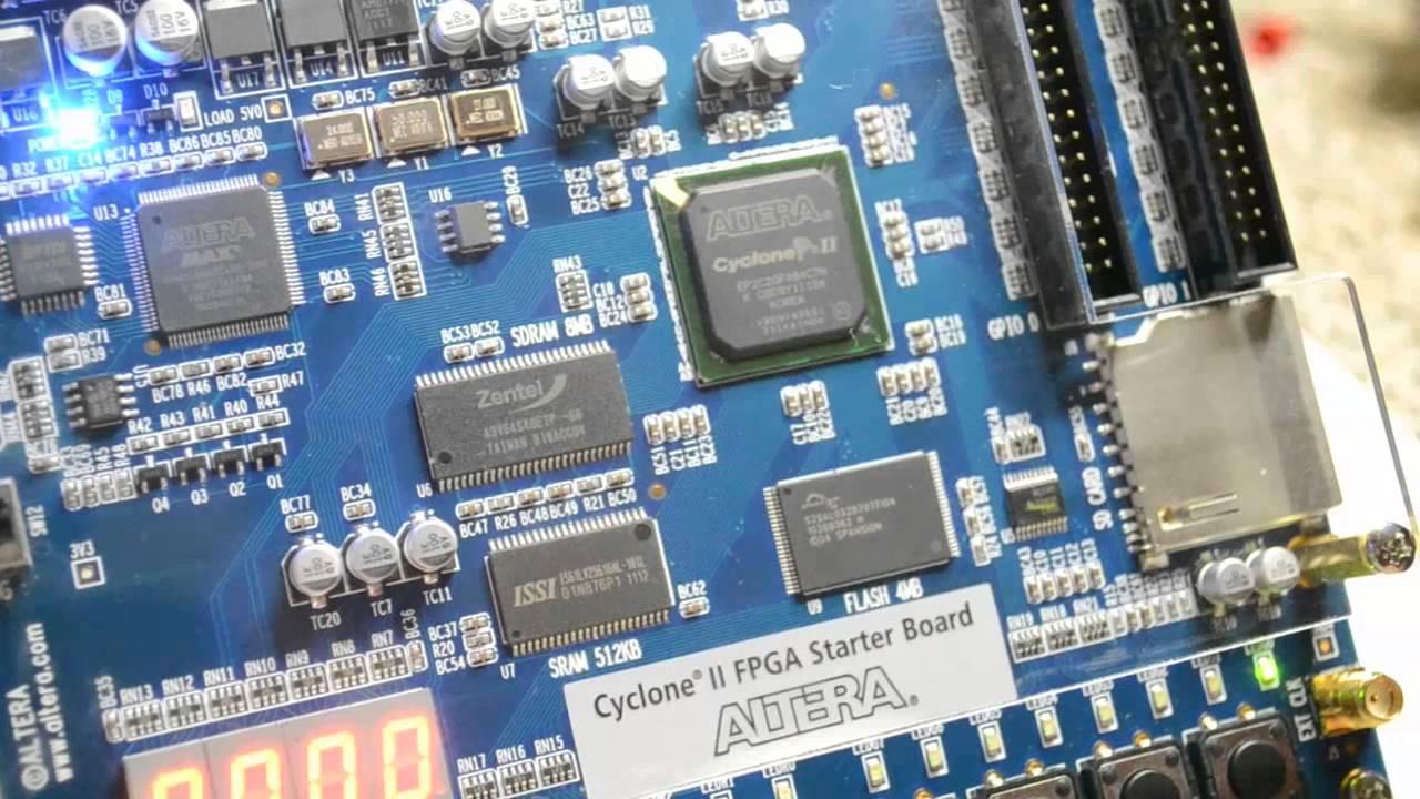 Altera Cyclone II FPGA Starter Board