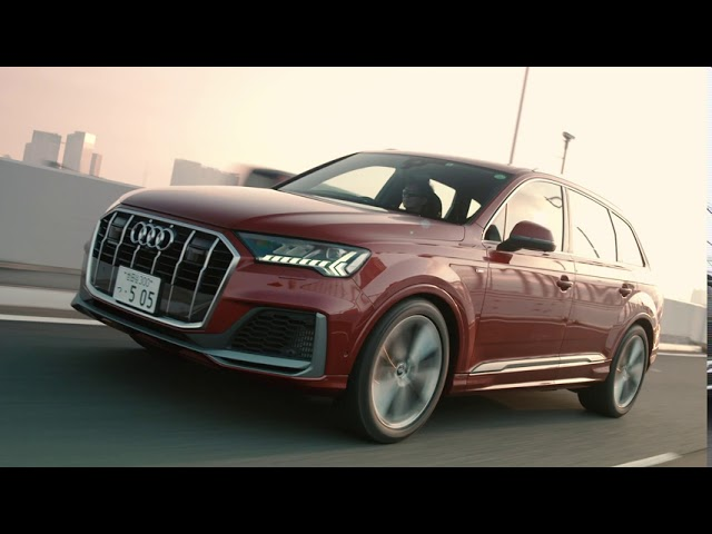 The new Audi Q7|Beautiful moments with new Audi Q7