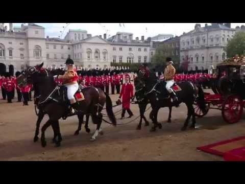Singapore State Visit: Carriage Procession