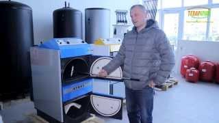 Видео обзор котлов на дровах ATMOS. Говорит эксперт компании