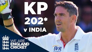 Kevin Pietersen Strikes Imperious 202* at Lord's | England v India 2011 - Highlights
