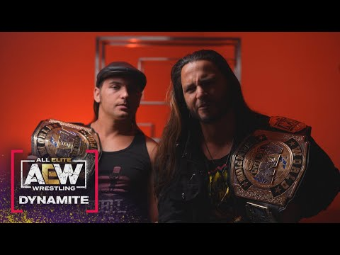 The Young Bucks Explain Why They Did What They Did.....  AEW Dynamite, 4/14/21