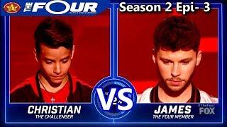 "James Graham vs Christian Gonzalez ""Lately""  The Four Season 2 Ep. 3 S2E3"