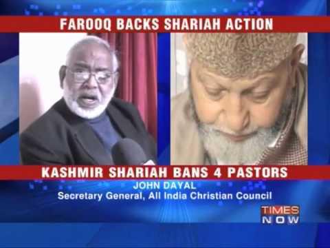 Unrest in valley over Shariah decree