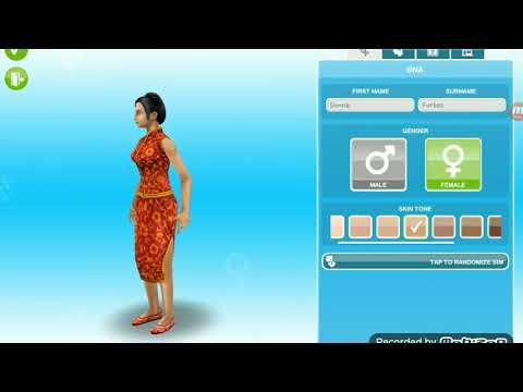 The Sims Freeplay:Billie Eilish CAS *I TRIED*