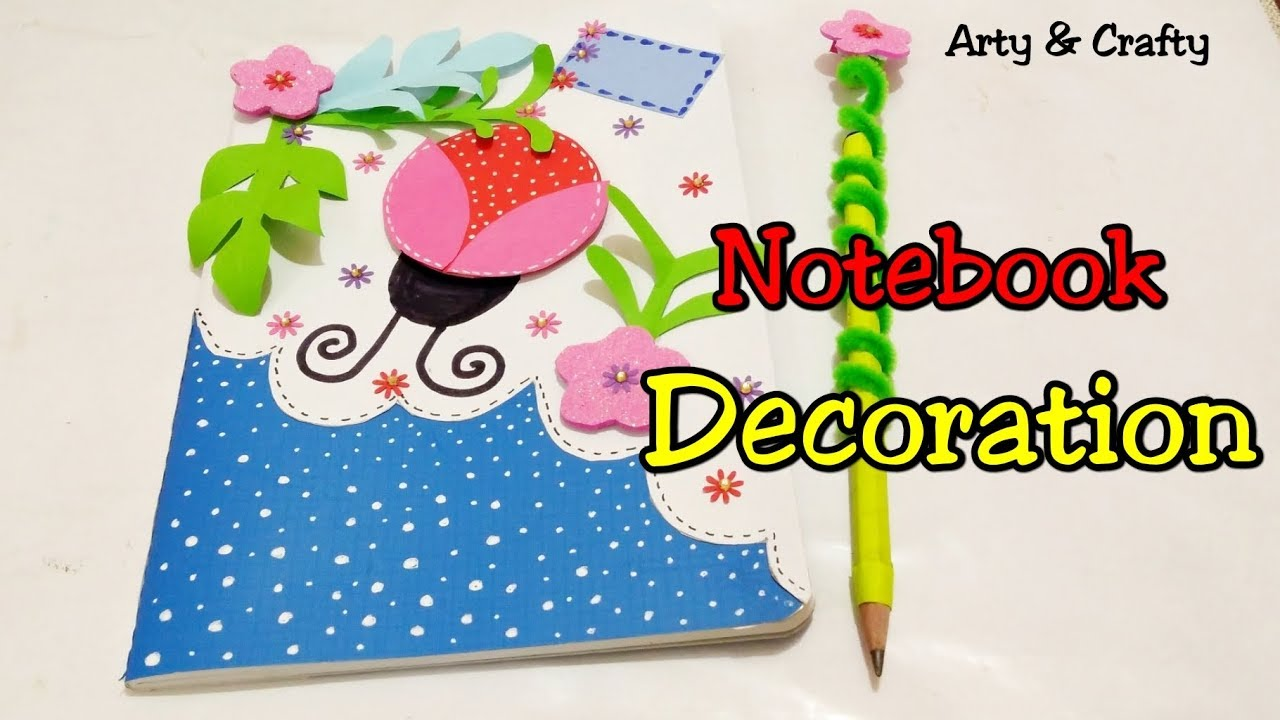 Diy Bookcover Decoration Notebook Cover Design Decorate Notebook