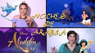 NOCHES DE ARABIA FT. Amanda Flores DisneyAnime  ALADDIN  (COVER) - Zamy Baumüller