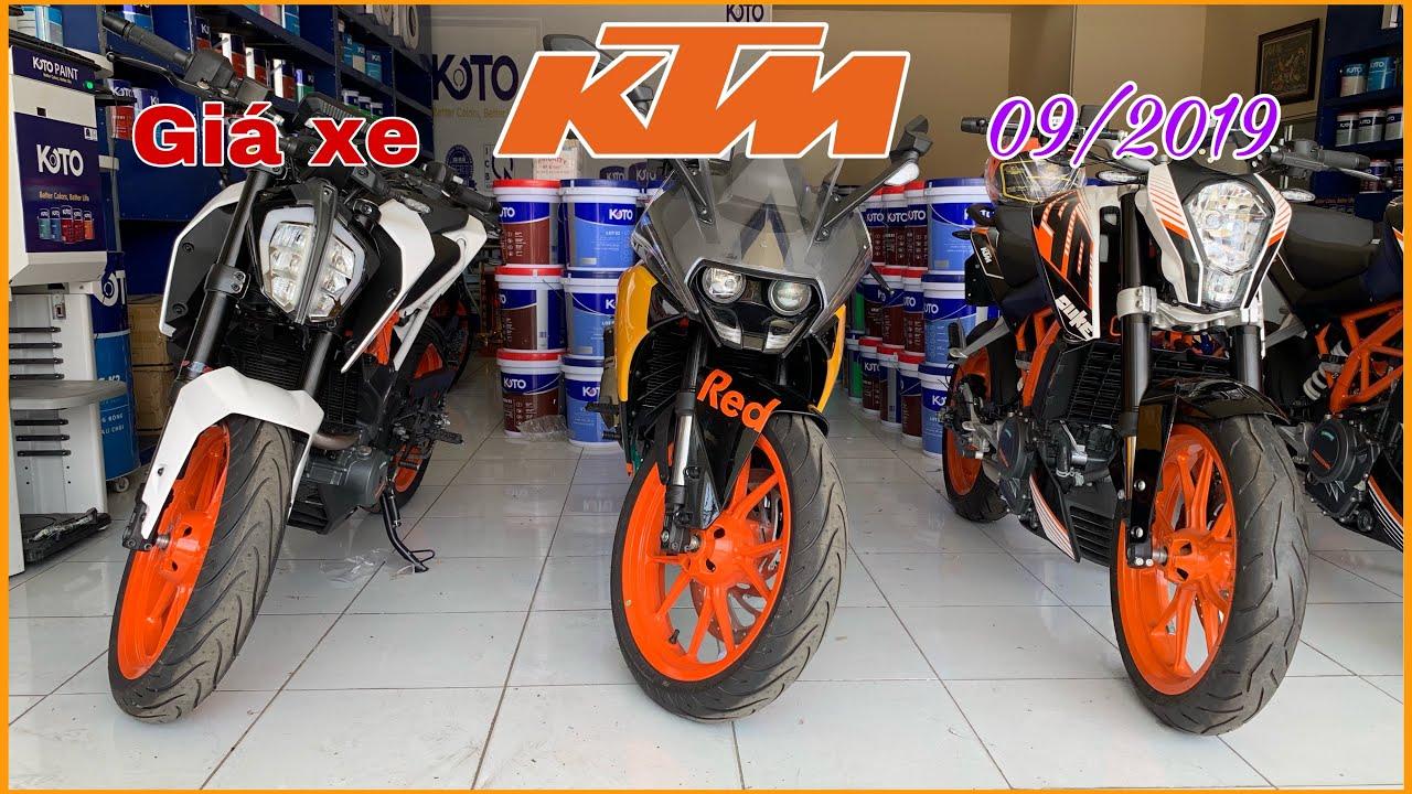Xem giá xe PKL KTM Duke, RC tháng 09/2019 tại Cần Thơ | MKT