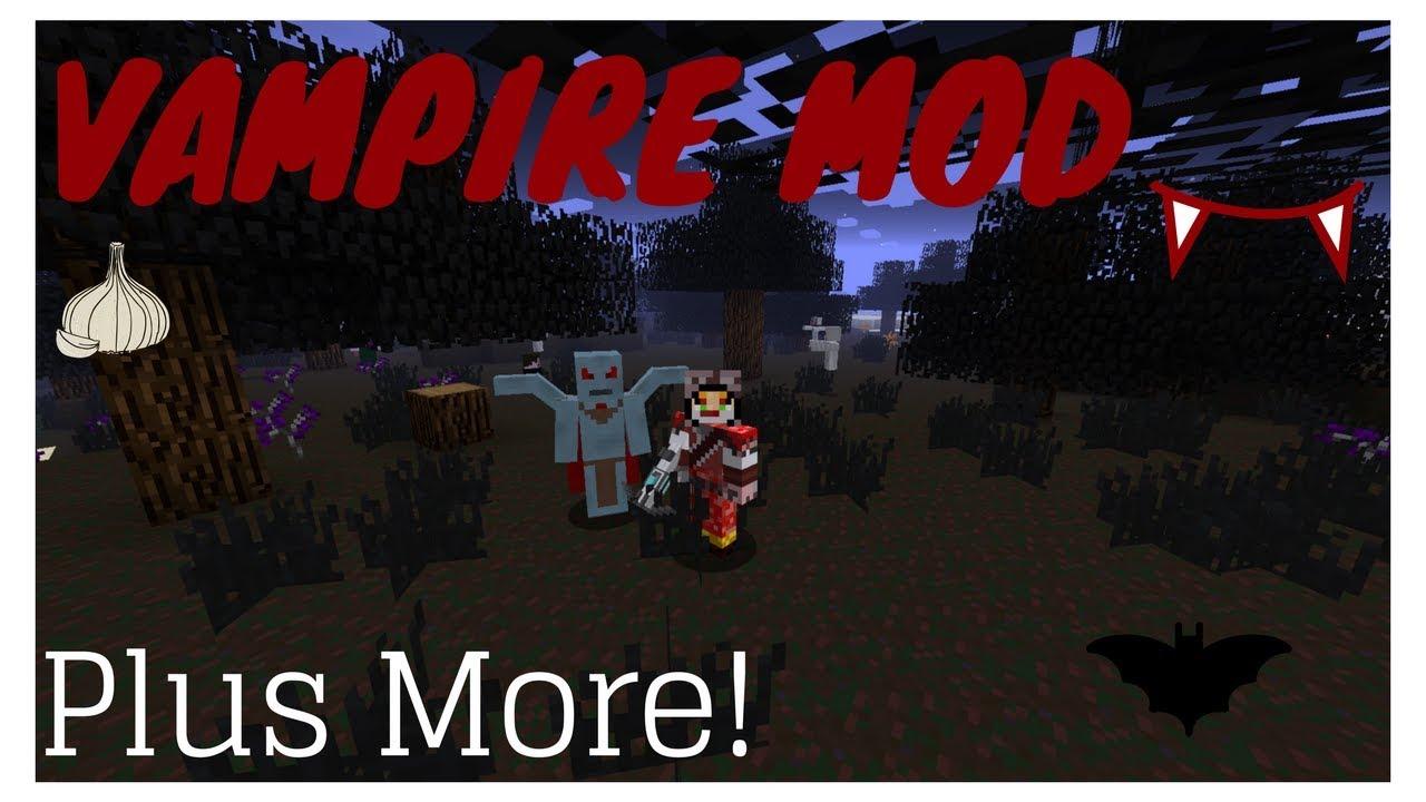 скачать моды на майнкрафт 1.13.2 на вампиров