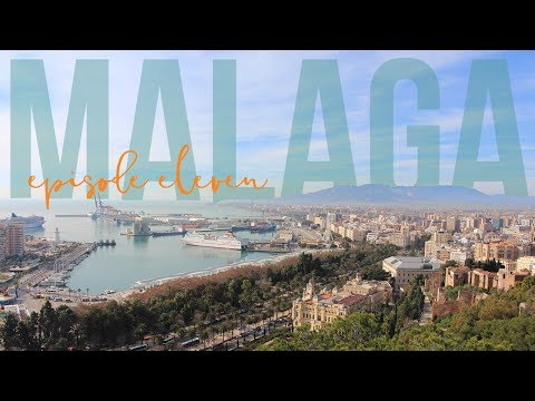 2017 Travel Vlog  Saying Goodbye to Malaga  Episode 11