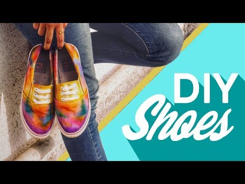 How to Restore Shoes | DIY Tie Dyeing