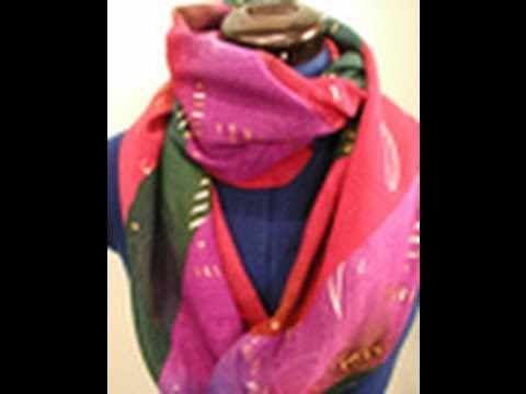 Janet Pray Demonstrates a Moebius Scarf Design on It\'s Sew Easy (201 ...