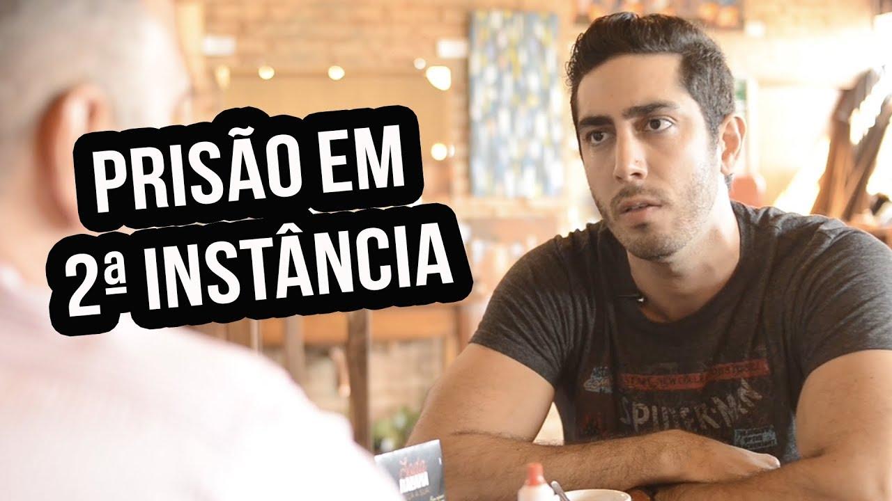 PRISÃO EM 2ª INSTÂNCIA - Jonathan Nemer