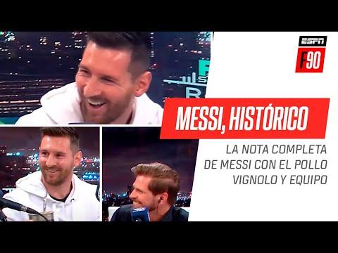 Messi, histrico mano a mano! Disfruta la nota completa