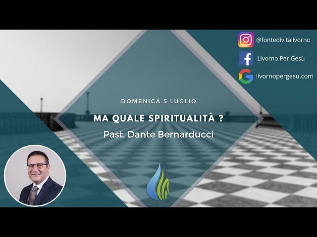 Ma quale spiritualità?