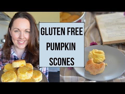 Gluten Free Pumpkin Scones (FLUFFY, DELICIOUS AND SO EASY!)